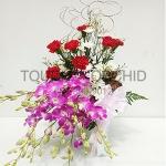 แจกันดอกไม้ Red Oriental B