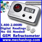 เครื่องวัดความแวววาว อัญมณี เพชร พลอย เครื่องประดับ Gem Refractometer Digital Gemology Gemstone 1.4~2.0 RI (สินค้าPre-Order 2สัปดาห์)