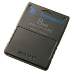 PS2: Memory Card 8 MB (Third Party)