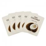 พร้อมส่ง MISSHA VIRGIN COCONUT SHEET MASK A SET OF 5 SHEETS สูตรมะพร้าวหอมอ่อนๆเพิ่มความชุ่มชื้น