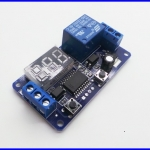 เครื่องตั้งเวลา ตั้งเวลาเปิดปิดอุปกรณ์ ตั้งเวลา 12VDC Display Digital Delay Timer Control Switch Module PLC Automation SU