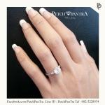 แหวนเพชรCZ ของขวัญสุดพิเศษในวันแต่งงานสำหรับคู่รัก