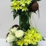 แจกันดอกไม้ Sun Shine รหัส 3053