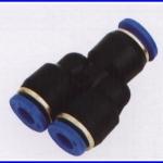 """ขั้วต่อลม ข้อต่อลม อุปกรณ์ลม SPN6-4 SPN series different diameter union """"Y"""""""