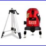 วัดระดับน้ำเลเซอร์ วัดระดับเลเซอร์ 360องศา พร้อมขาตั้ง 5lines 6points laser level 360 rotary cross laser line leveling with outdoor model with tripod
