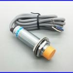 พร็อกซิมิตี้เซนเซอร์ ตรวจจับวัตถุโลหะ ระยะตรวจจับ8mm M18 DC NPN NO+NC measuring Inductive proximity switch sensor LJ18A3-8-Z/CX