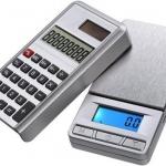 เครื่องชั่งดิจิตอล เครื่องคิดเลข เครื่องชั่งพกพา Pocket Scale 500g/0.1 Grade B+