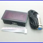 เครื่องวัดความเร็วรอบ เครื่องวัดรอบ พร้อม ฮอล์พร็อกซิมิตี้เซนเซอร์และแม่เหล็ก 10-9999 RPM Digital Tachometer RPM Speed Meter + Hall Proximity Switch Sensor NPN