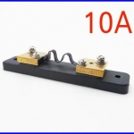 เครื่องมืองานไฟฟ้า DC 75mV 10A Current Shunt Resistor For Amp Ammeter Panel Meter FL-2
