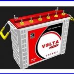 โซล่าแบตเตอรี่ Deep Cycele ให้กำลังไฟมากกว่าแบตเตอรี่ธรรมดาถึง 5เท่า VOLTA VINT200 Double Deep Cycle 200ah