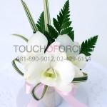 ช่อดอกไม้ติดเสื้อ รหัส 6012