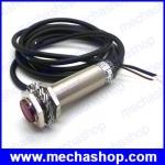 เลเซอร์เซนเซอร์ M18 laser sensor Diffuse reflection laser photoelectric switch visible red light 0-80CM ปรับระยะการตรวจจับได้ JG-18D08NO