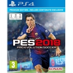PS4: Pro Evolution Soccer 2018 [PES2018] (Z2) ส่งฟรี EMS]
