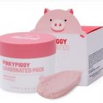 (พร้อมส่ง ) APRIL SKIN Pinky Piggy Carbonated Pack( 23,000 wom ) เป็นมาส์กคาร์บอเนตฟองฟู่สีชมพูอ่อน