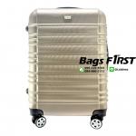 กระเป๋าเดินทาง ไฟเบอร์ ไซส์ 28 นิ้ว สีทอง (ขายส่ง)