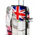 กระเป๋าเดินทาง ลายลอนดอน ขนาด 24 นิ้ว