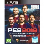 PS3: Winning Eleven 2018 [PES2018] (Z3) [ส่งฟรี EMS]