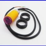 โฟโต้อิเล็กทริคเซนเซอร์ โฟโต้สวิตซ์เซนเซอร์ Photoelectric switch sensor 3-50cm E18-D50NK แรงดัน 5Vdc 100mA