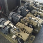Vacuum pump ยี่ห้อ ORION รุ่น KR้H8-SS-2201 (used)