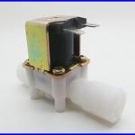 โซลินอยด์วาล์วน้ำ โซลินอยด์ไฟฟ้าปิดเปิดน้ำ วาล์วน้ำไฟฟ้า Electric Solenoid Valve 220V for Water Air N/C 1/2 นิ้ว