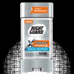 Right Guard Extreme Defense 5 Power Gel กลิ่น Arctic Refresh 4 oz. / 113 g. ระงับกลิ่นกายแบบเจล ปกป้องนาน 72 ช.ม. ดีมากๆจากอเมริกาค่ะ
