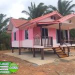 4-022 บ้านน็อคดาวน์ ทรงจั่วมุกซ้อน