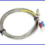 เทอร์โมคับเปิล เซนเซอร์เครื่องวัดอุณหภูมิ เซนเซอร์วัดอุณหภูมิ K Type Thermocouple 600C ( cable 2m)