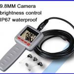 """กล้องตรวจสอบงาน กล้องเอ็นโดสโคป LCD2.4"""" Video Borescope Endoscope Snake Pipe 4M Cable Inspection Camera(สินค้าPre-Order 2สัปดาห์)"""