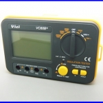 เมกกะโอห์มมิเตอร์ เครื่องตรวจสอบฉนวนแบบดิจิตอล มิเตอร์วัดฉนวน VICI VC60B+ Digital Insulation Tester Meter Megger Megohmmeter 1000V 2G