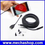 กล้องเอนโดสโคป กล้องตรวจสอบงาน HD 2MP 8.5mm USB Endoscope Inspection Camera Borescope Endoscope Snake Scope 6LEDs 5M Cable Android USB Endoscope