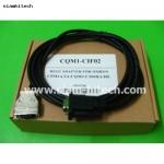 สายโหลด รุ่น CQM1-CIF02 PLC OMRON สายแบบRS232 (ใหม่)
