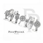 การเลือกสวมใส่ แหวนเพชรCZ เพชรเม็ดเล็กหรือใหญ่ดูต่างกันยังไง