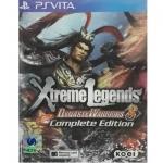 PSVita: Dynasty Warriors 8 Xtreme Legends - Complete Edition (Z3) [ส่งฟรี EMS]