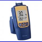 เครื่องวัดความชื้น เครื่องวัดความชื้นในไม้ เครื่องวัดความชื้นดิน ความชื้นในผลผลิตการเกษตร Wood Cement Brick 0~95.7% Moisture Meter Thermometer °