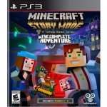 PS3: Minecraft Story Mode : The Complete Adventure (Z All) [ส่งฟรี EMS]