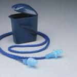 3m-1291 ปลั๊กอุดหู ลดเสียง สายโพลีเอสเตอร์ บรรจุกล่องสีน้ำเงินคาดเอว