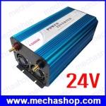 อินเวอร์เตอร์ โซล่าเซลล์ Power Inverter 24V 1500 watt pure Sine - Wave Inverter Power that really moves BEP1500S