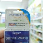 ขี้ผึ้งจัดฟัน Dr.Phillips orthowax 2ตลับ