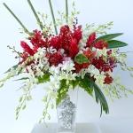 แจกันดอกไม้ Red Deluxe รหัส 3044