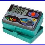 กราวด์มิเตอร์ เครื่องวัดค่าความต้านทานดิน มิเตอร์วัดกราวด์ Digital Earth Ground Resistance Tester Meter 0-2000Ω DY4100