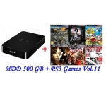 External HDD 500GB + Games PS3 Vol.11 (CFW3.55+) [ส่งฟรี EMS]
