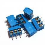 Terminal Connector Blocks 3Pins Pitch 5.0mm (สีฟ้า)