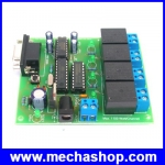 บอร์ดควบคุม บอร์ดควบคุมผ่านคอมพิวเตอร์ อุปกรณ์ควบคุมผ่านคอมพิวเตอร์ Serial Control Boards รุ่น SC-400