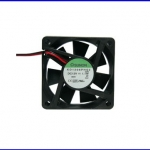 """พัดลมระบายความร้อน พัดลมระบายอากาศ 12VDC 3800RPM 1.1W 2.5"""" KD1206PHS2.GN"""