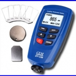 เครื่องวัดความหนาสี เครื่องตรวจสอบความหนาการทำสี วัดการพ่นสี วัดการชุบเคลือบโลหะ Coating Thickness Gauge Meter Auto F/NF มีซอฟแวร์เชื่อมต่อคอมพิวเตอร์ได้
