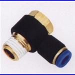 ขั้วต่อลม ข้อต่อลม อุปกรณ์ลม SPH6-01 SPH series swing elbow(จำนวน10ชิ้น)