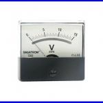 Panel Meter มิเตอร์ติดแผงหน้าปัทม์ 7203 DC15V