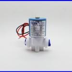 """โซลินอยด์วาล์วสำหรับเครื่องกรองน้ำดื่ม น้ำสะอาด 24V 1/4 """"N / C ใช้สำหรับ RO Reverse Osmosis"""