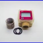 """มิเตอร์วัดอัตราการไหลของน้ำ หรือน้ำมัน 10-120ลิตรต่อนาที ขนาดท่อเส้นผ่าศูนย์กลาง1"""" Diesel Fuel Flow Meter 10-120L/min"""