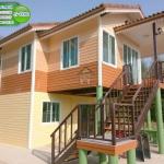 5-030 บ้านน็อคดาวน์ - บ้านหลังใหญ่ - ทรงจั่วมุกซ้อน